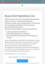myopia care start test