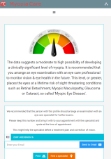 myopia care summyry test