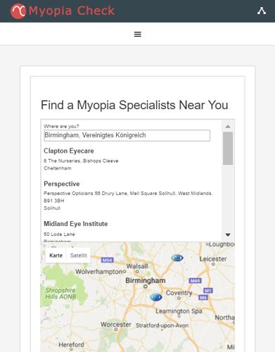 myopia care test
